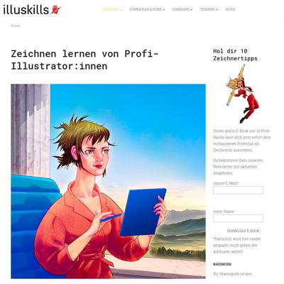 illuskills - Verein zur Förderung der Illustrationsausbildung