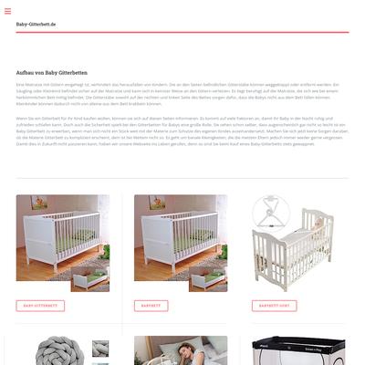 Baby Gitterbett – erstes Bett fürs Baby