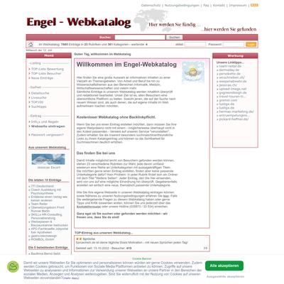 Engel Webkatalog