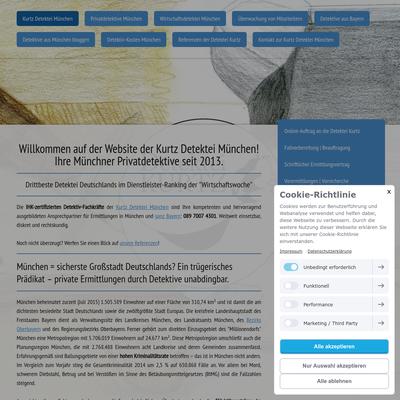 Kurtz Detektei München