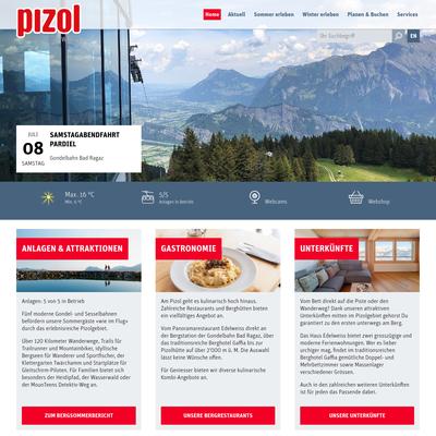 Pizol Bergbahn Schweiz AG - Skifahren am Pizol