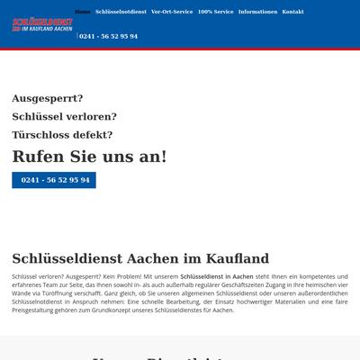 Alemannia Schlüsseldienst in Aachen - Direkt im Realkauf