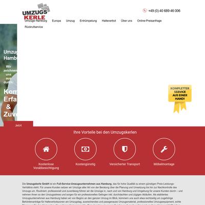 Umzugskerle GmbH - Umzugsunternehmen Hamburg