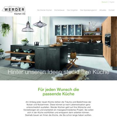 Werder Küchen Cham - Küchenbauer mit Tradition