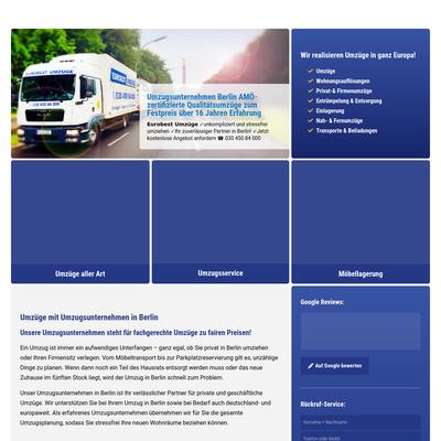 AAA Eurobest Umzüge e.K. Umzugsfirma Berlin - Umzug Berlin