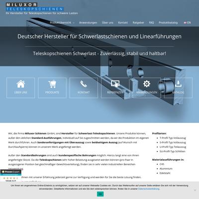 Miluxor Schienen GmbH