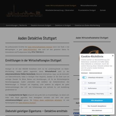 Aaden Detektei Stuttgart