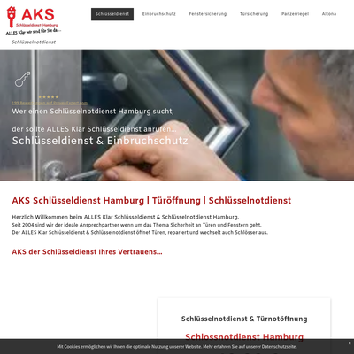AKS Schlüsseldienst & Schlüsselnotdienst Hamburg