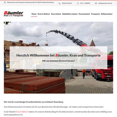 Bäumler Kran und Transporte