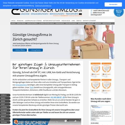 Günstiger Umzug GmbH