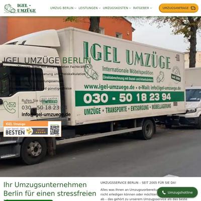 Igel Umzüge Berlin