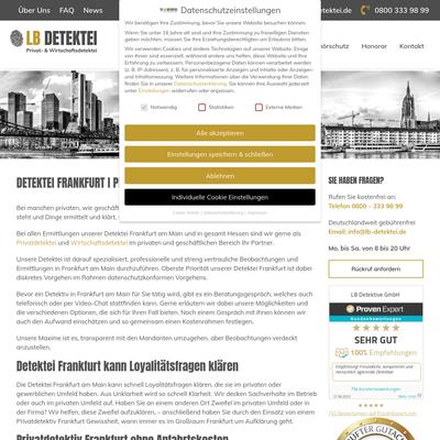 LB Detektive GmbH - Detektei Frankfurt am Main