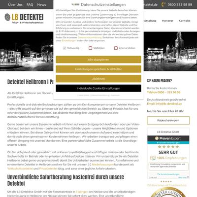 LB Detektive GmbH - Detektei Heilbronn