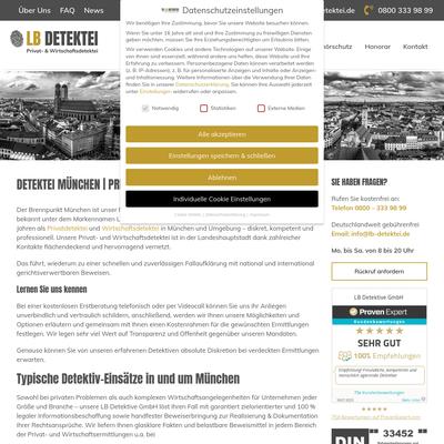 LB Detektive GmbH - Detektei München