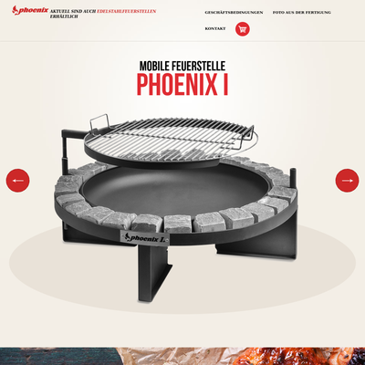 Feuerstelle und Grill Phoenix
