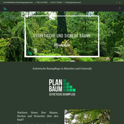 Planbaum - Ästhetische Baumpflege