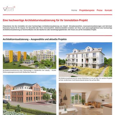 Visuell³ - Architekturvisualisierung