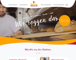 Vorschau der Homepage von D-98617 Bäckerei Nahrstedt