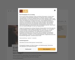 Vorschau der Homepage von DER Bäckermeister