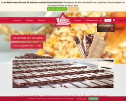 Vorschau der Homepage von D-93468 Beier-Waffeln