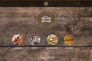 Vorschaubild der Homepage von al dente group GmbH & Co. KG