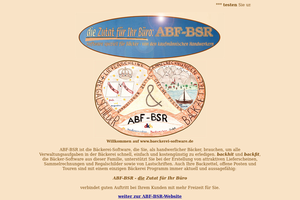 Vorschaubild der Homepage von ABF-BSR - Die Zutat für das Büro des Bäckers
