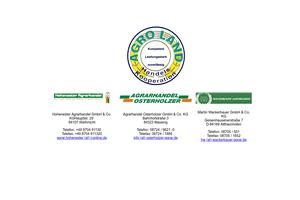 Vorschaubild der Homepage von Agroland Gruppe Landhandel
