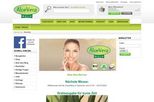 Vorschaubild zu Aloe-Vera Backservice