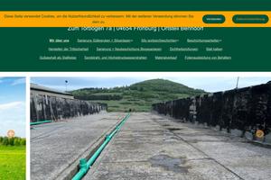Vorschaubild der Homepage von Bautenschutz-Technik Brauße