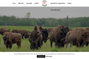 Vorschaubild der Homepage von Bisonfleisch - gesünder kann man nicht essen
