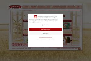 Vorschaubild der Homepage von Burger-Knäcke