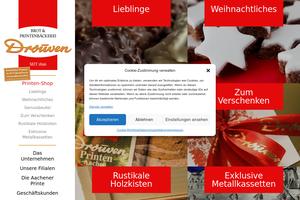 Vorschaubild zu Drouven GmbH - Aachener Printen Spezialitäten seit 1896