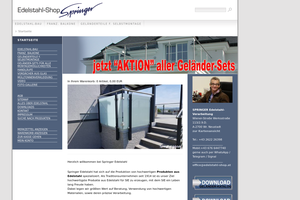 Vorschaubild zu SPRINGER Edelstahl-Verarbeitung