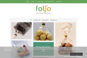 Vorschaubild der Homepage von foljo FGV GmbH