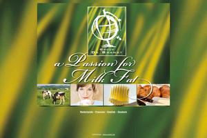 Vorschaubild der Homepage von De Brandt, Milchfett Spezialist Butter und Butterfett