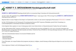 Vorschaubild zu Horst F. C. Brüggemann Handelsgesellschaft mbH