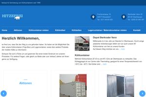 Vorschaubild der Homepage von Bäckereikälte - natürlich von HITZEFREI