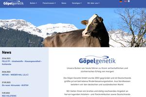 Vorschaubild der Homepage von Goepelgenetik