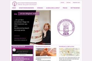 Vorschaubild der Homepage von Deutscher Konditorenbund