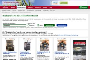 Vorschaubild der Homepage von Holzbackofen
