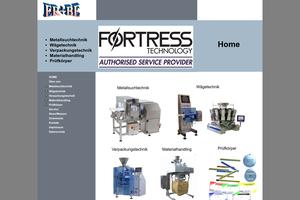 Vorschaubild der Homepage von Metalldetektoren für die Lebensmittelindustrie