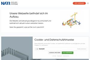 Vorschaubild der Homepage von Narr-Isoliersysteme Kühl- und Tiefkühlzellen
