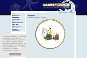 Vorschaubild der Homepage von Krabben-Bremer GmbH