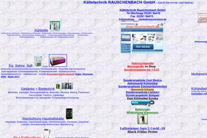 Vorschaubild der Homepage von Kältetechnik RAUSCHENBACH GmbH