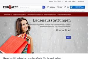 Vorschaubild der Homepage von Reinhardt Ladenbau GmbH D-49134 Wallenhorst