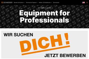 Vorschau der Homepage von Schneider GmbH