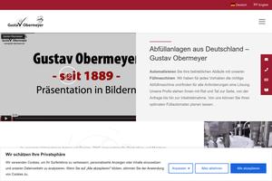 Vorschaubild der Homepage von Dosieranlagen Verschließmaschinen von spemaba.com