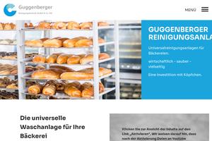 Vorschaubild der Homepage von Guggenberger Reinigungstechnik e.K.
