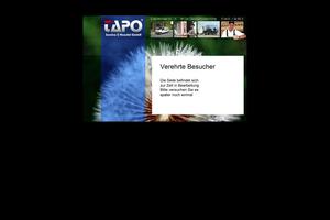 Vorschaubild der Homepage von TAPO Schädlingsbekämpfung