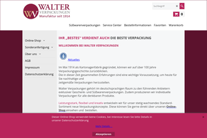 Vorschaubild zu Walter Verpackungen GmbH